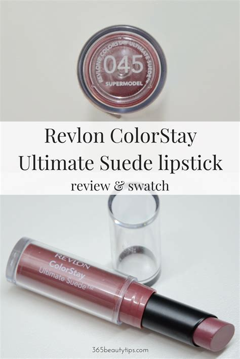 Revlon Colorstay Ultimate Suede Lipstick revlon colorstay ultimate suede lipstick review and