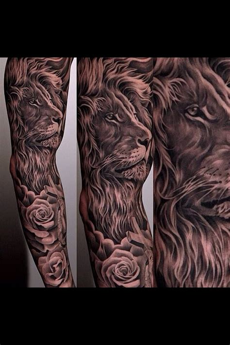 lion tattoo half sleeve best 25 sleeve ideas on half sleeve