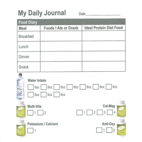 sample daily log templates   sample templates