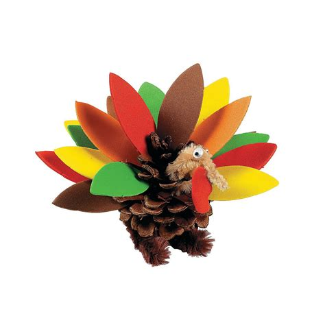 pinecone turkey craft 20 of the best thanksgiving turkey crafts for to make