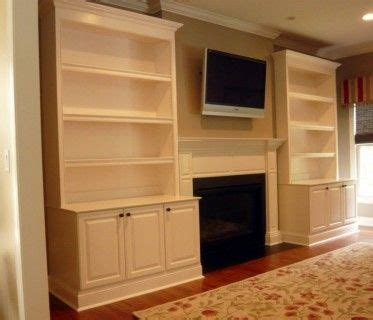 Ideas For Built In Bookcases Built In Bookcases Around A Fireplace Home Design Ideas