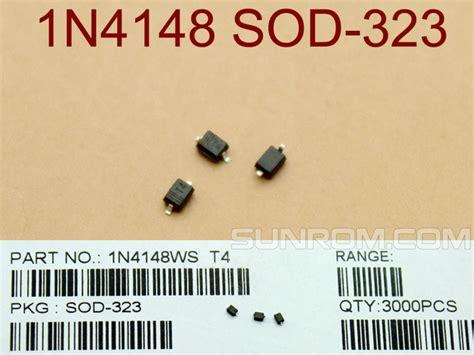 1n4148 1n4148ws In4148 0805 Sod323 Sod 323 Smd 1n4148 smd sod323 4418 sunrom electronics technologies