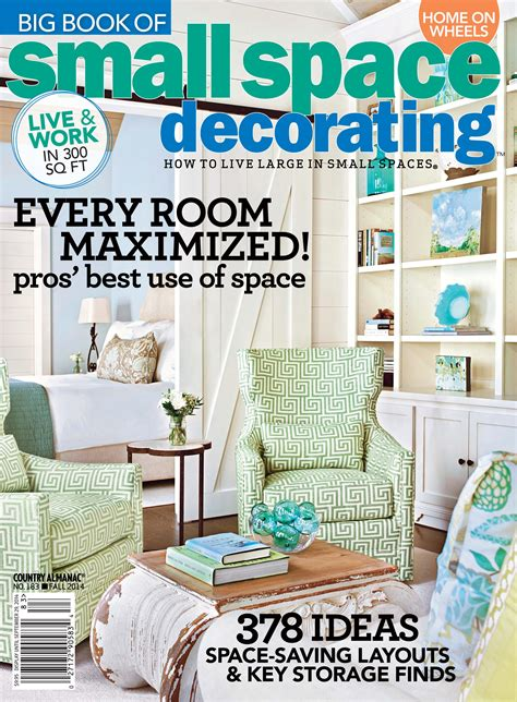 Small Space Decorating Magazine by Lyr Published In Big Book Small Space Decorating