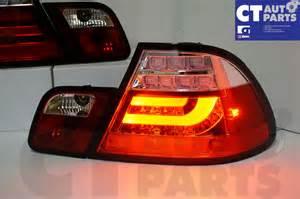 clear led light bar lights bmw e46 98 02 coupe