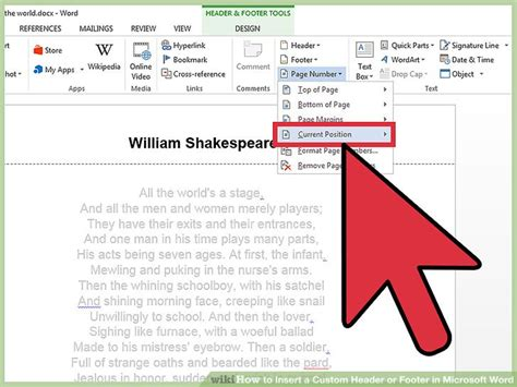 design a header online 4 ways to insert a custom header or footer in microsoft word