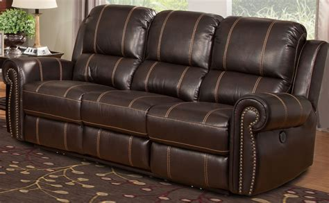 parker house sofa webber sumatra dual power reclining sofa from parker