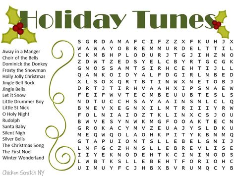 english word pattern search free printable christmas word searches
