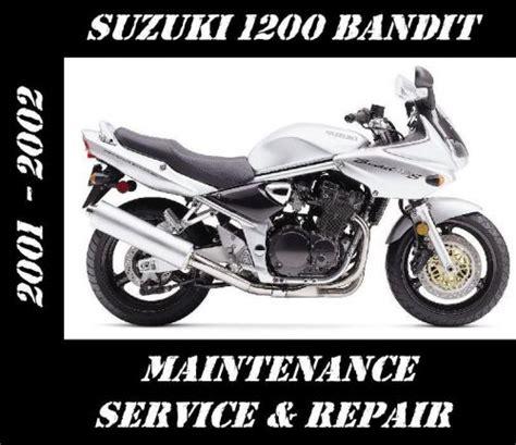 Suzuki Bandit 1200 Service Manual Find Suzuki Gsf1200 Bandit Gsf 1200 Maintenance Tune Up