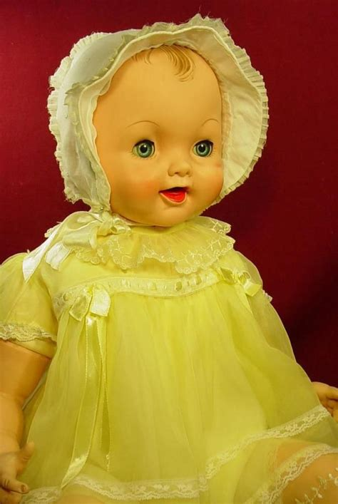 by brand company character dolls dolls bears darling vintage effanbee big 26 quot cuddle up baby doll in