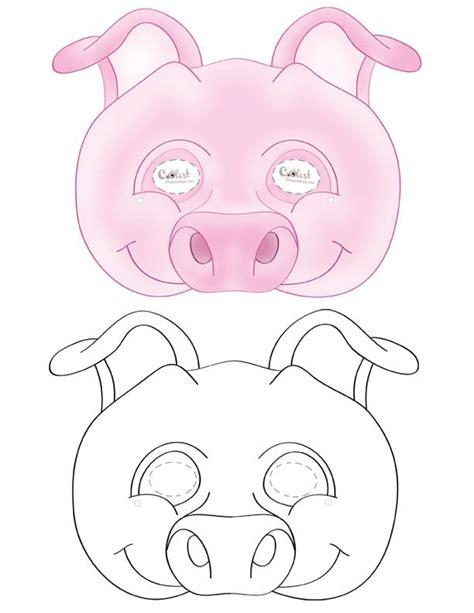 printable pig mask printable pig mask coolest free printables pap 237 rmunk 225 k