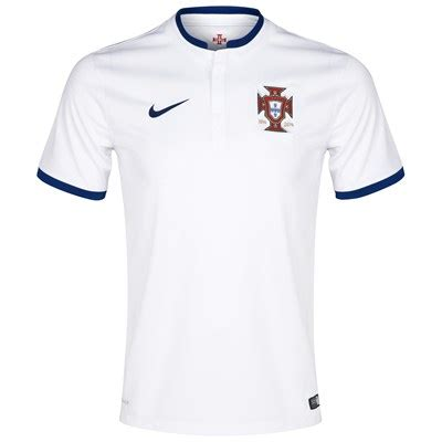 Tshirt Kaos Turkey 2014 fifa world cup portugal away white soccer jersey