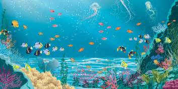 Finding Nemo Wall Mural pro art under the sea
