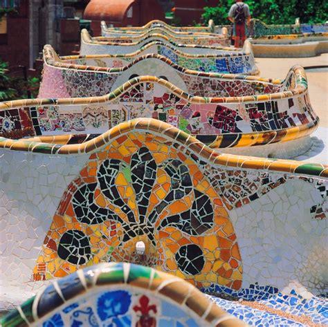 Banc Parc Guell by Parcourez Barcelone En Photos Banc Du Parc G 252 Ell Gt Ok Voyage