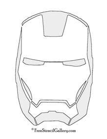 iron mask template iron mask stencil free stencil gallery