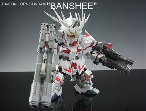 Sd Gundam Unicorn Banshee gt sd unicorn gundam quot banshee quot by keita large images gunjap