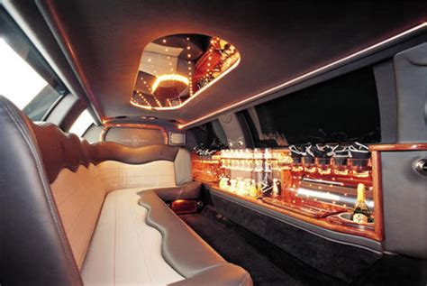 Limousine Interior by Jeep Expedition Limo Hire
