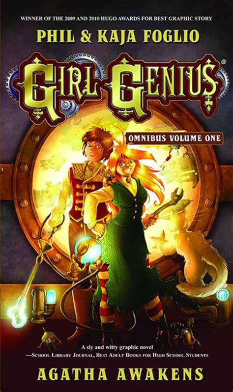 Review Genius By Phil And Kaja Foglio genius omnibus volume 1 agatha awakens by phil and