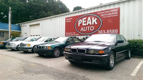 BMW Repair by Peak Auto in Apex, NC   BimmerShops