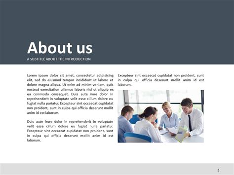 company introduction presentation template logistics ppt template goodpello