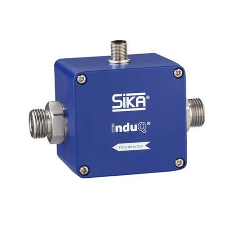 inductive type sensor magnetic inductive flow sensor type vmi 10 sika messtechnik und regeltechnik