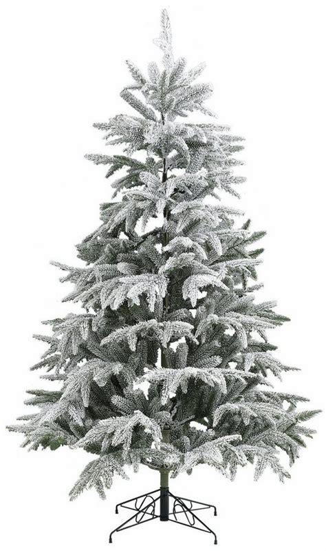 weinachbaum auf richnug k 252 nstlicher weihnachtsbaum mit schnee in 5 gr 246 223 en otto
