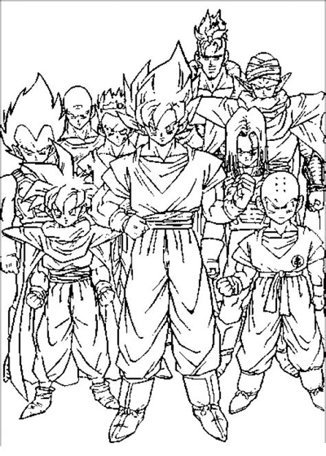all dragon ball z coloring pages dragon ball gt vegeta coloring pages