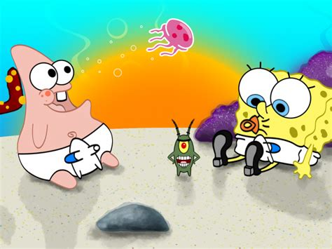 wallpaper kartun untuk iphone gambar spongebob squarepants wallpaper wallpapersafari