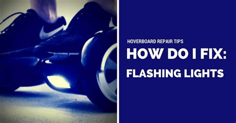 how do i fix my lights the hoverboard and news from scooterera