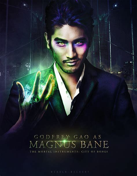godfrey gao the mortal instruments magnus bane godfrey gao the mortal instruments city