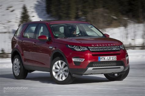 land rover discovery sport red 2015 land rover discovery sport review autoevolution