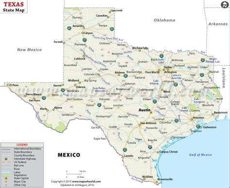 texas in the map texas state map map of texas state