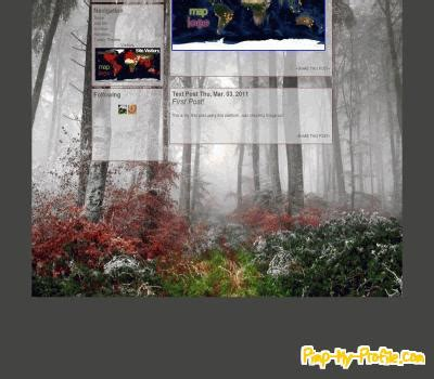 tumblr themes free forest fall forest tumblr themes pimp my profile com