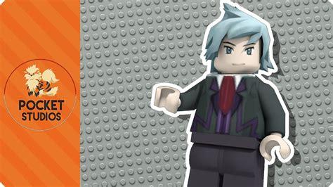 Lego Sapphire Minifigure steven lego minifigure 3d model omega ruby