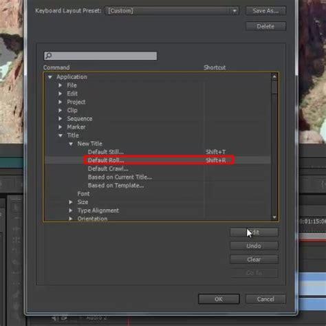 adobe premiere pro cs6 change still image how to customize keyboard shortcuts in adobe premiere pro