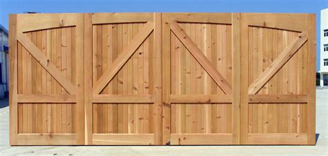 Cedar Wood Garage Doors Price Wood Overhead Garage Doors For Sale In Pennsylvania Nicksbuilding