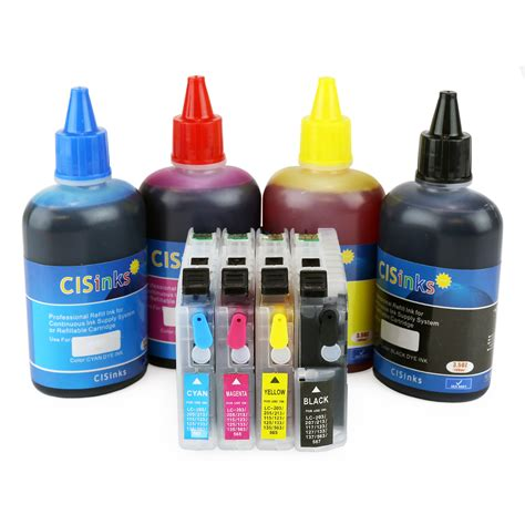 Toner Refill refillable ink cartridge kit for epson workforce wf 7710