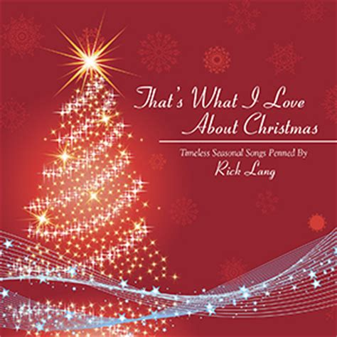 that s what i love about christmas rick lang music