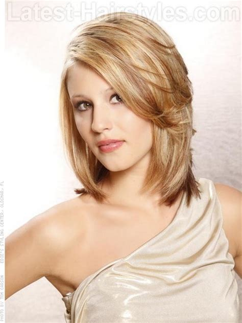 medium hairstyles oval medium length hairstyles for oval faces