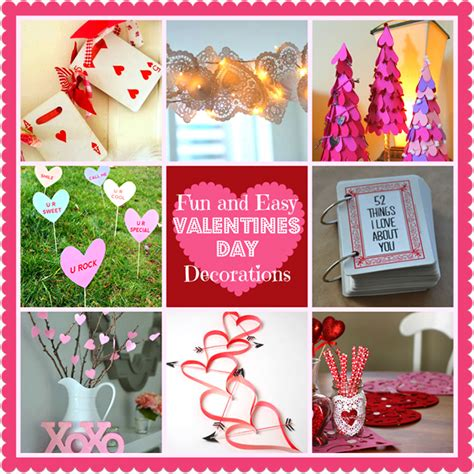 valentines for diy home decoration ideas for s day