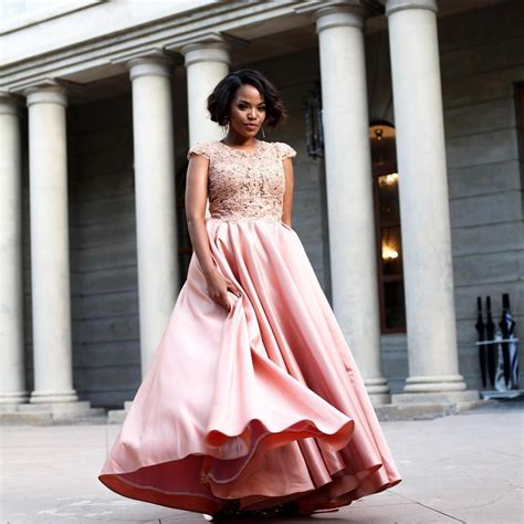 terry pheto s wedding wedding glam 14 perfect hemlines kamdora