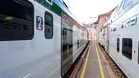 treno bergamo porta garibaldi partenza treno trenord dalla stazione como lago verso