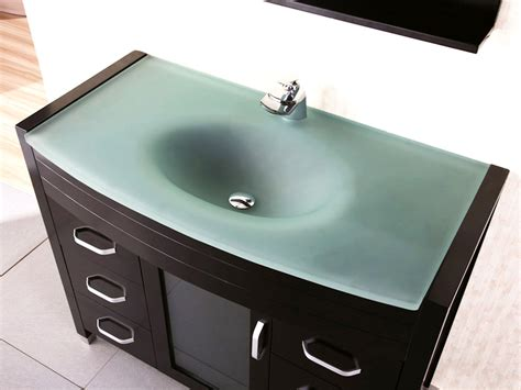 Glass Bathroom Sink The Trend Glass Bathroom Sinks The New Way Home Decor