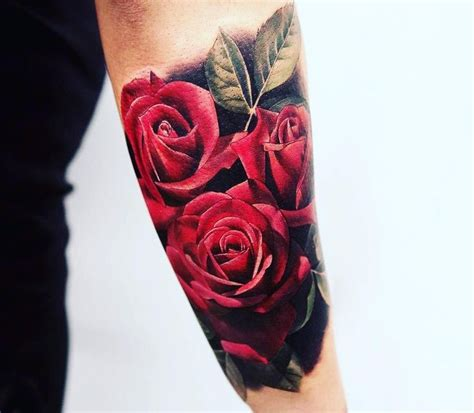 tattoo arm man rose feed your ink addiction with 50 of the most beautiful rose