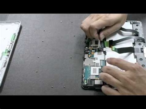 Ads P7500 1 samsung galaxy tab p7510 10 1 wifi disassembly