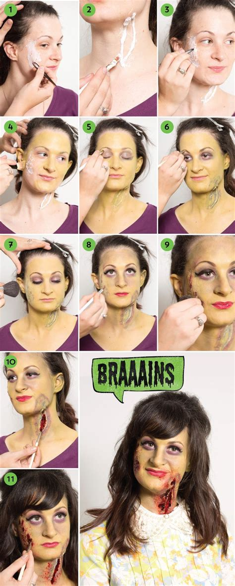 zombie yourself tutorial get ghoulish with our zombie makeup tutorial we in