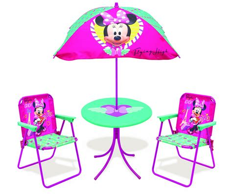 minnie mouse patio set only classic patio set disney minnie mouse jet setter toys outdoor toys
