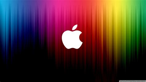 wallpaper apple rainbow download rainbow apple 4 wallpaper 1920x1080 wallpoper