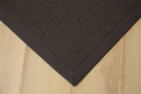 teppiche joop sisal carpet manaus with border anthracite 60x90 cm 100