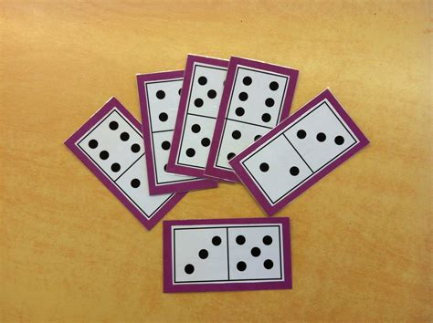 printable domino cards for math mrs byrd s learning tree domino math games