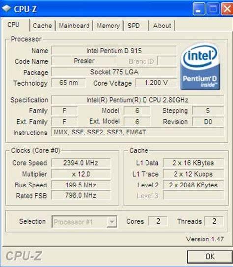 Berapa Ram Ddr2 melihat spesifikasi komputer dengan cpu z dan gpu z leuwiliang website